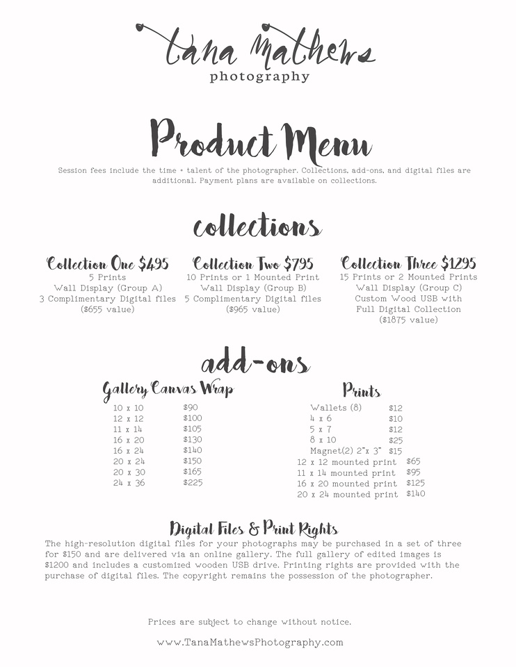 Microsoft Word - 2016 pricing without digitals.docx